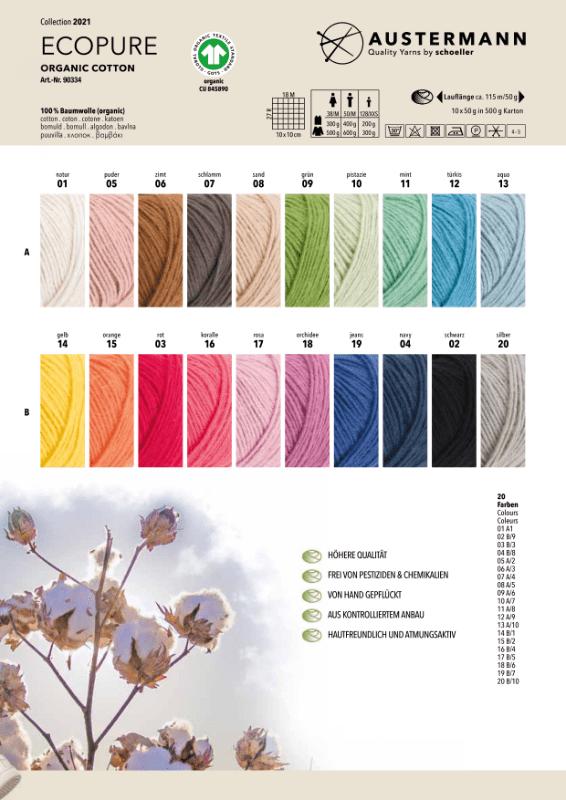eco pure kleurstalen